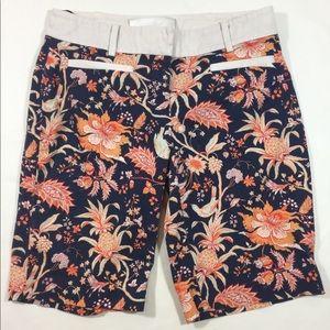 Anthro Leifsdottir Maypop Bermuda Shorts